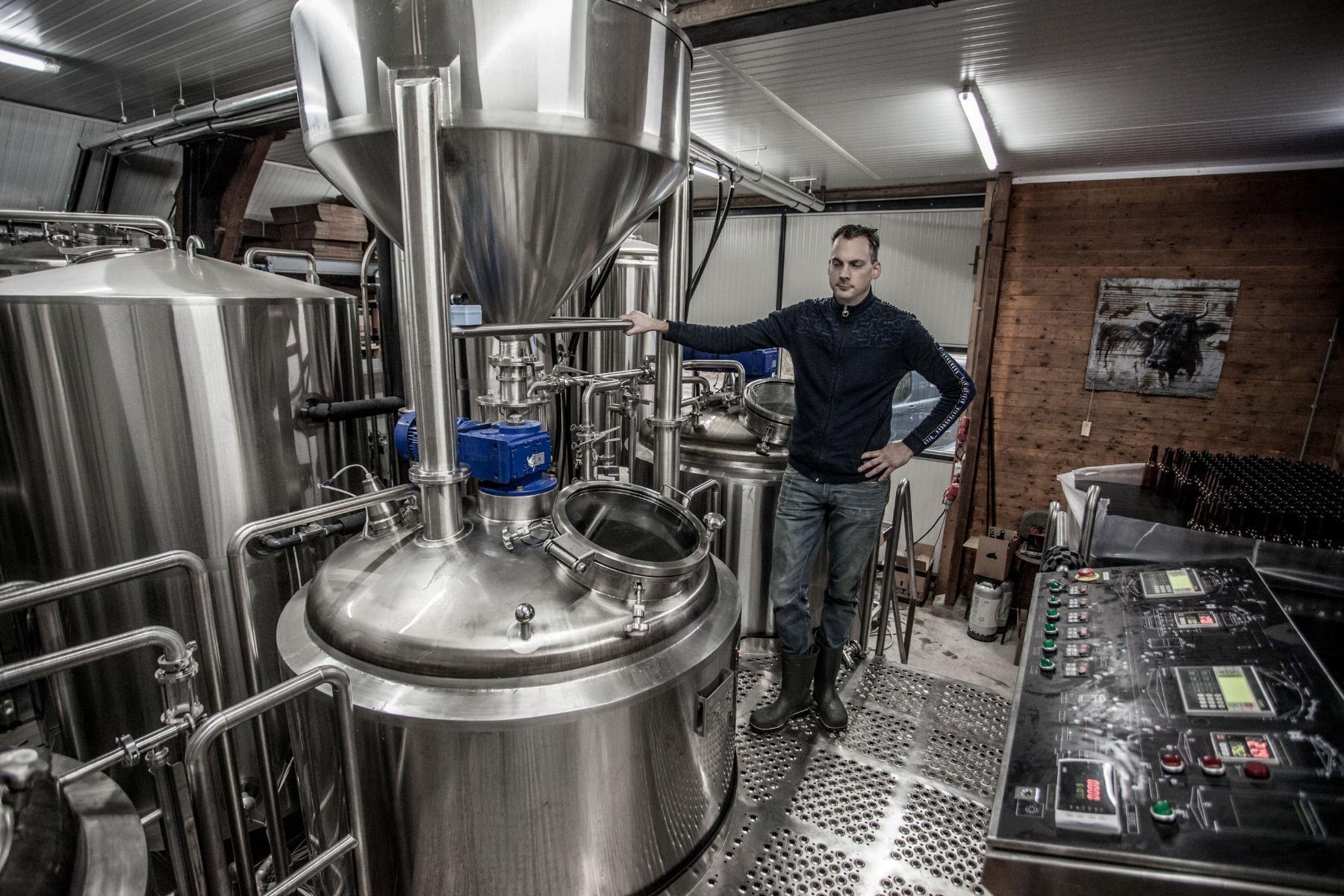 Theo Hogendoorn van Brouwerij Artemis