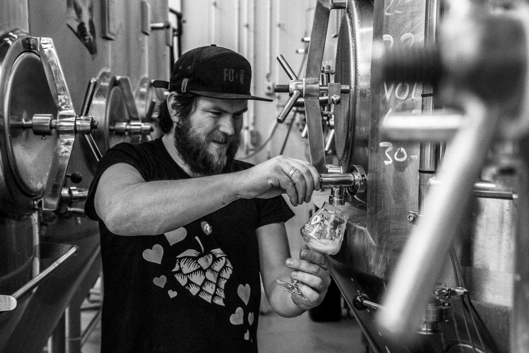 Koen Overeem van Rock City Brewing uit Amersfoort