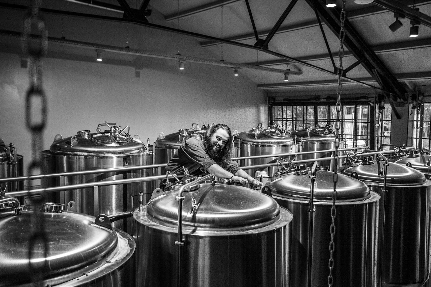 Johan van Brouwerij de Werf in Enkhuizen