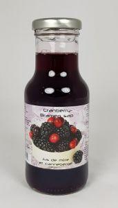 Cranberry Bramen Sap Dutch Label