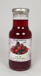 Cranberry Sap Dutch label