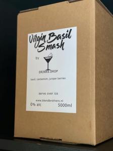 BlendBrothers - Virgin Basil Smash Cocktail - BIB 5 Liter