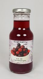 Cranberry Sap Dutch label