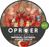 Oproer - Imperial Oatmeal Coffee Stout