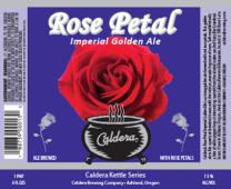Caldera Brewing Company - Rose Petal