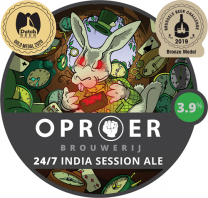 Oproer - 24/7 India Session Ale