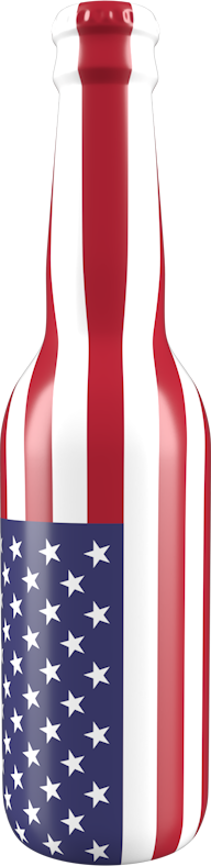 USA bottle