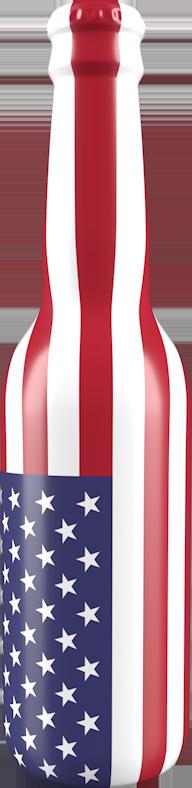 USA bottle